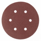 Круг абразивный P180 150мм на ворсовой основе (уп. 5шт)