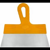 Шпатель Biber фасадный Мастер 200мм нержавеющая желтая ручка