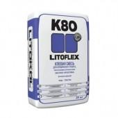 Клеевая смесь LitoFlex К-80 для керамической плитки и керамогранита 25кг