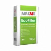 Шпатлевка гипсовая финишная Магма EcoFiller 20кг