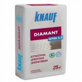 Штукатурка Knauf Diamant декоративная, шуба 3мм 25кг