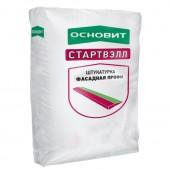 Штукатурка ОСНОВИТ СТАРВЭЛЛ фасадная цементная PC-22 25кг