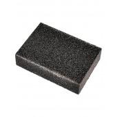 Губка шлифовальная четырехсторонная P80 100*70*25мм Креост