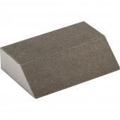 Губка шлифовальная четырехсторонняя средняя жесткость P320 100*68*26мм Политех
