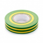 Изолента ПВХ 15мм*10м жёлто-зелёная