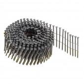 Гвозди для пневматического пистолета барабанные винтовые 2.5*50 (300 шт*30)