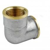Угольник лат Ду15 м/м LD никель
