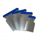 Набор шпателей металлических (набор 4шт.)