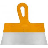 Шпатель Biber фасадный Мастер 100мм нержавеющая желтая ручка