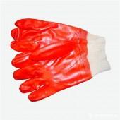 Перчатки резиновые маслобензостойкие красные