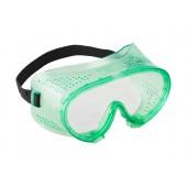 Очки защитные закрытого типа с прямой вент. ЗУБР МАСТЕР