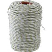 Фал плетеный полипропиленовый 16-прядный с полипропиленовым сердечником d=8мм 100м 520кгс