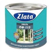 Краска эмаль ZLATA белая термостойкая 1,9 кг