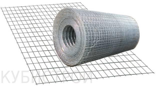 Сетка оцинкованная сварочная 12х12х1,2мм 1х15м Китай