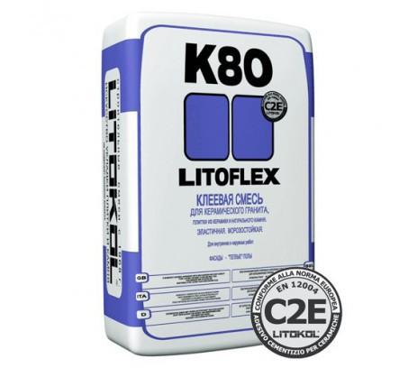 Плиточный клей Литокол К-80 (25 кг)