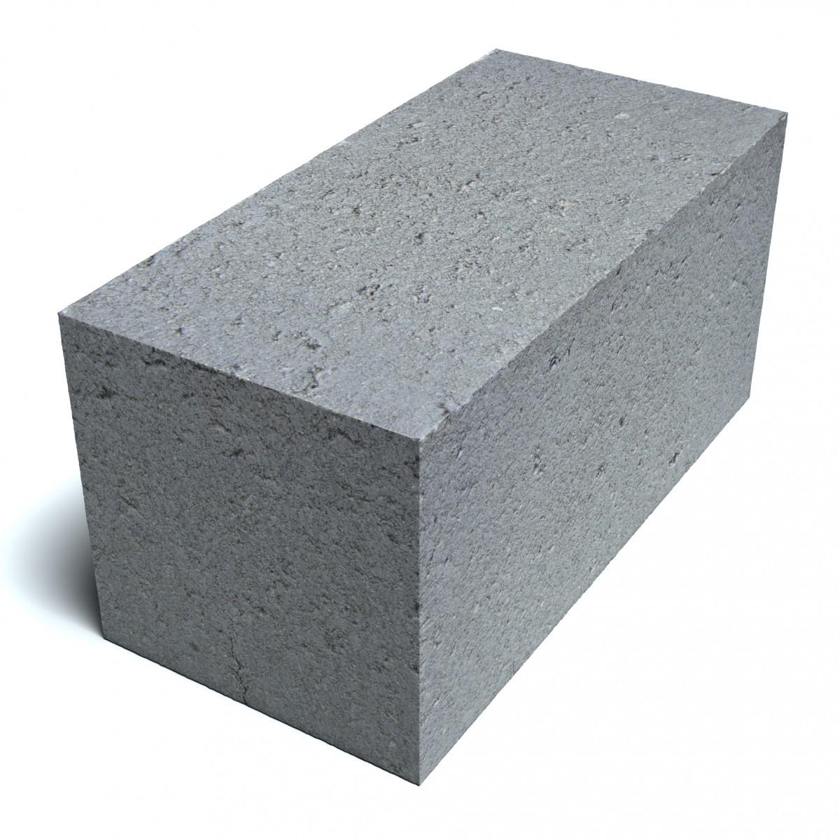 Блок фундаментный 20*20*40
