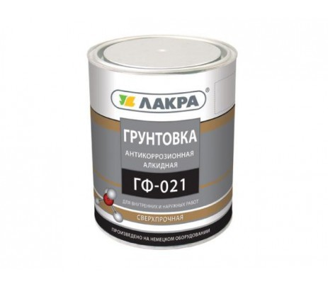 Грунт по металлу ГФ-021 Farbox серый 2,7 кг