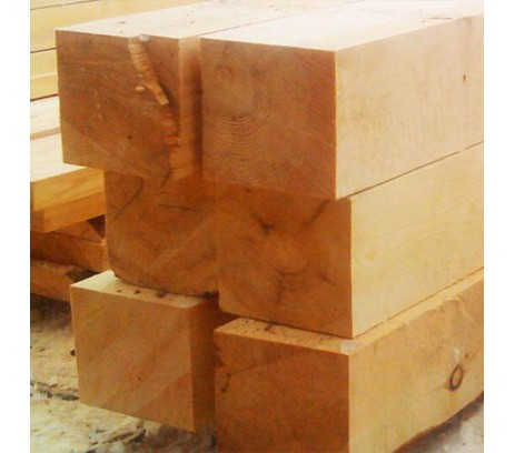 Брус обрезной ГОСТ 1 сорт 200х200х6000 мм  Зеленый лес   1м3-4штуки