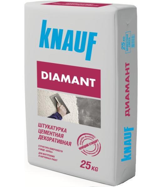 Штукатурка цементная декоративная KNAUF Диамант (25 кг)