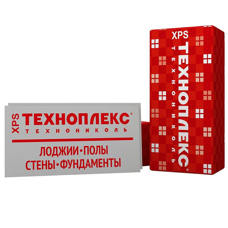 Техноплекс (Технониколь) 1180х580х100 мм 0,274 м3  2,73 м2