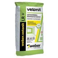 Шпаклевка финишная полимерная Weber Vetonit LR+ (25 кг)