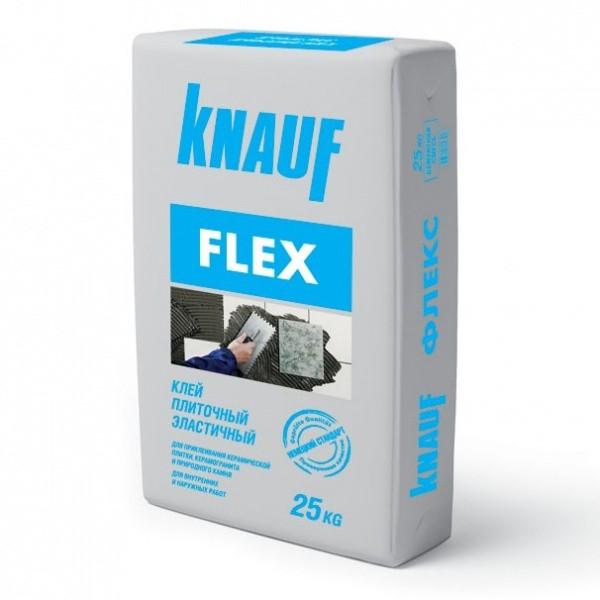 Эластичный плиточный клей для плитки и природного камня Кнауф Флекс | Knauf FLEX [мешок 25 кг]