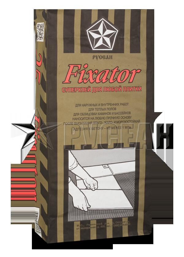 Клей Фиксатор - плиточный клей Русеан (Fixator)