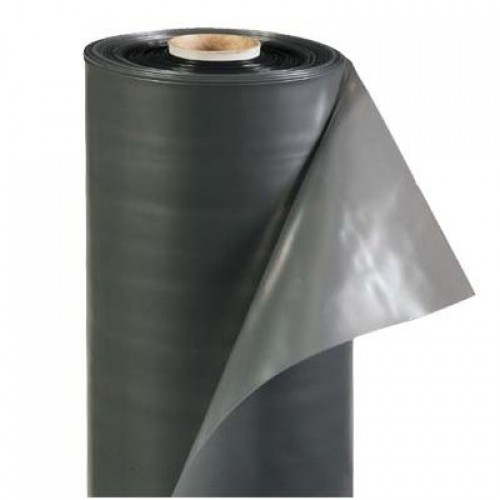 Пленка полиэтиленовая техническая черная 120 мкр (1.5 мет*100 мет)  300 м2 рулон