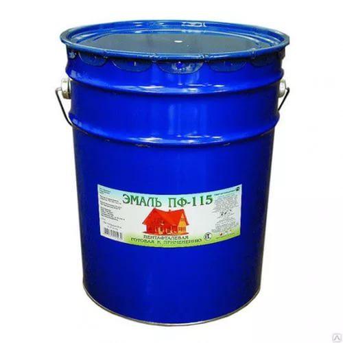 Краска эмаль ПФ-115  FARBOX  серая   20 кг