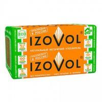 Утеплитель базальтовый Изовол | Izovol  П-50 тол.100 (2,4 кв.м, 0,24 м3, 4 шт.)