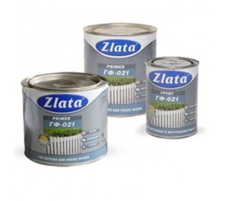 Грунт-эмаль по ржавчине  ZLATA 2,7 кг  белая