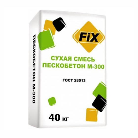 Пескобетон М300 FIX (40 кг)