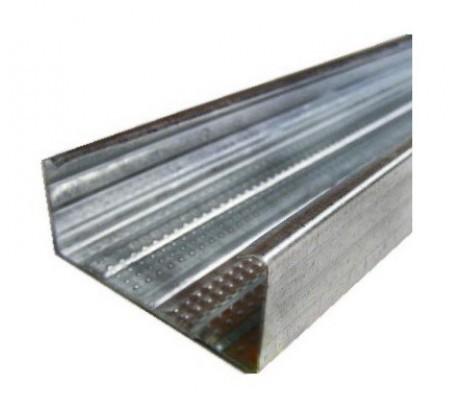 Профиль направляющий 50х40 3 м толщина стенки 0,4