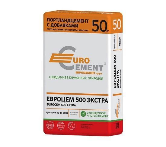 Цемент М500 (50 кг) EuroCement