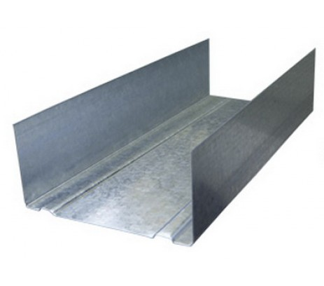 Профиль направляющий 75х40 3 м стенка 0,4 мм