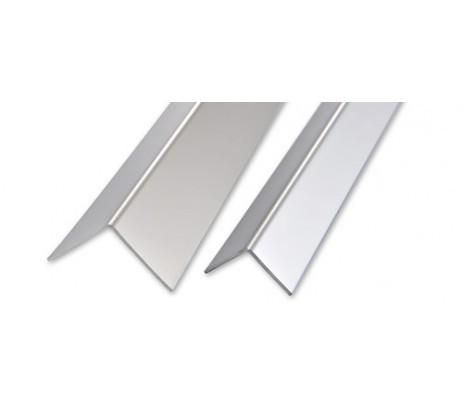 Уголок защитный алюминиевый 25х25