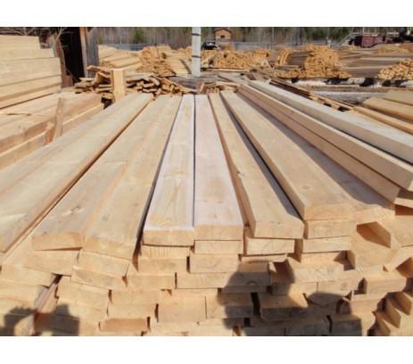 Доска обрезная ГОСТ 1 сорт 40х130х6000 (Зеленый лес)  1м3- 32 штуки