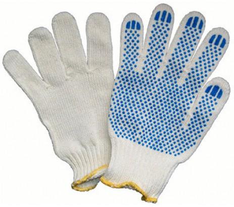 Перчатки обычные х/б