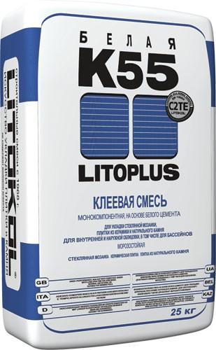 Клей Литокол Литоплюс К55 (25 кг)