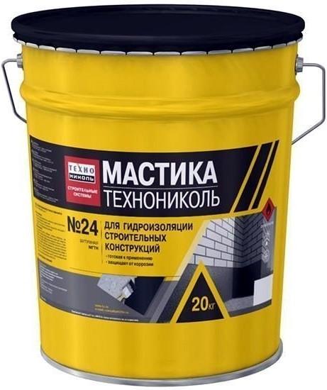 Мастика ТехноНИКОЛЬ № 24 (20 кг)