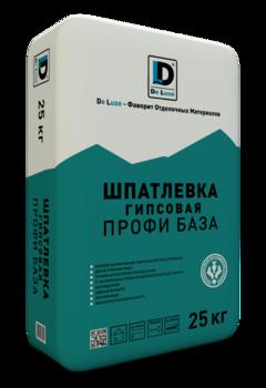 Шпатлевка гипсовая De Luxe ПРОФИ БАЗА (25 кг)