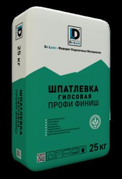 Шпатлевка гипсовая De Luxe ПРОФИ ФИНИШ (25 кг)