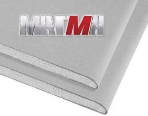 Гипсокартонный лист МАГМА (ГКЛ) 2500х1200х9,5 мм