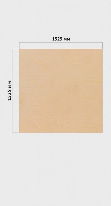 Фанера ФК  1525*1525  сорт 4/4   тол.9 мм