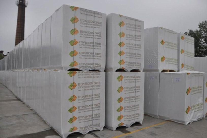Газосиликатный  блок Егорьевский 600х300х200  Д400 (26,66 штук в 1 м3)