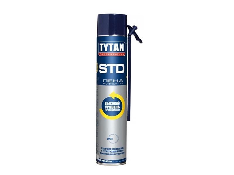 Пена монтажная Tytan Professional ERGO STD 21345 500 мл бытовая летняя полиуретановая